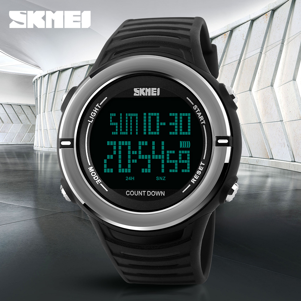 <font><b>SKMEI</b></font> Mens Watches Brand Luxury Sports Watches Men Clock Male Digital LED Outdoor Military Waterproof Watch Relogio Masculino image