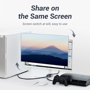 Image 5 - HDMI переключатель Vention, двунаправленный, 2,0 дюйма, 1x2/2x1, для ТВ приставки PS4 Pro/4/3