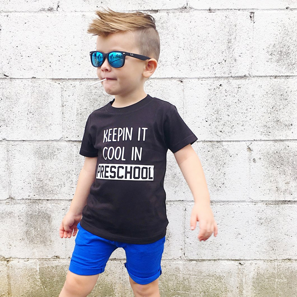of Course I Have A Bestie Its My Grandpa Toddler//Kids Short Sleeve T-Shirt