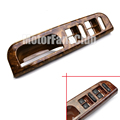 Wood Pattern Accessories For VW Passat B5 Jetta Golf MK4 Interior Door Window Switch Armrest Panel Cover Trim Bezel