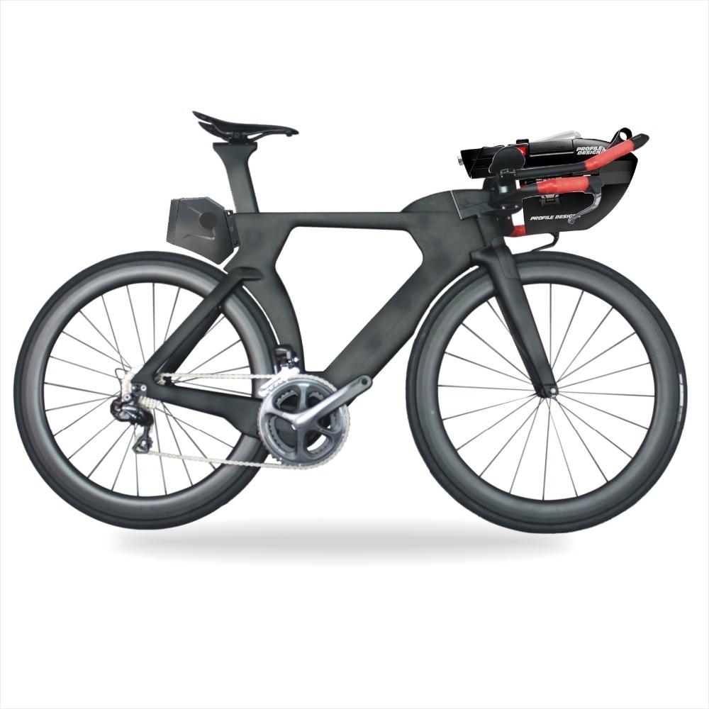 MIRACLE 2018 Aero Di2 TT Carbon Bike Ultegra R8060 Bicicletas 700c Carbon Triathlon Bikes 48/51/54/57cm Complete Bike