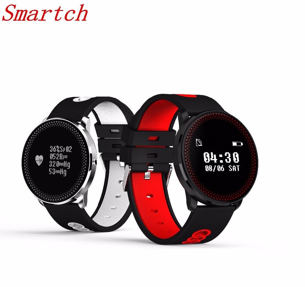 Smartch 2018 CF007 Ultradünne Smart Armband Bluetooth Sport Smart Band Uhren Blutdruck Herzfrequenz Smart Armband
