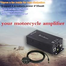 MOTOQUEEN поддержка WAV поддержка 4 колонки усилитель мотоцикла dirt bike mp3-плеер, автомобильный fm-радио аудио bluetooth mp3