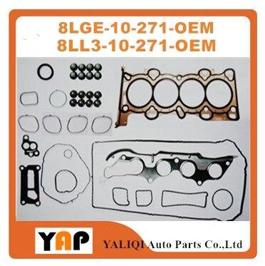 Overhaul Gasket Kit Engine FOR FIT MAZDA CX7 RX8 L5 Mazda 3 5 6 2.5L MZR L5 16V L4 8LGE-10-271 8LL3-10-271 2007-2016 fit rx карнитин fit rx l carnitine 3000 20капс х 25мл