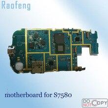 Raofeng разблокирован для samsung galaxy S7580 материнская плата в разобранном виде Высокое качество 16 Гб Замена материнскую плату с полным набором чипов