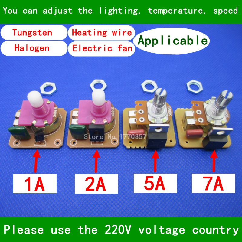 Aliexpress.com : Buy Dimmer Switch Table Lamp / Floor Lamp Dimmer Lighting  Accessories DIY Regulate The Temperature / Velocity / Light Potentiometer  From ...