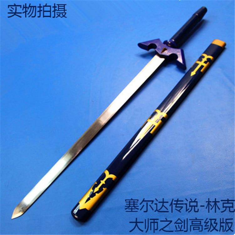 The Legend of Zelda link games Cosplay steel Sword knife blade weapon - Home Decor