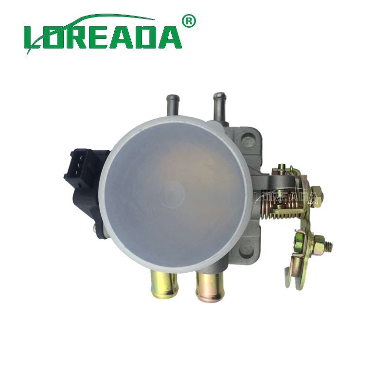 LOREADA Throttle body for LADA 2.0L 4062.1148100 Bore Size 60mm High Performance Throttle valve assembly Brand New