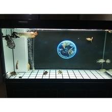 150 см* 60 см земля аквариум фон Плакат HD аквариум украшения пейзаж с клеем на поверхности