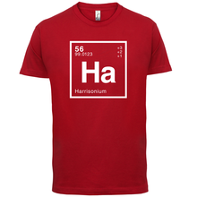 HARRISON Periodic Element - Mens T-Shirt Geeky / Chemistry 13 ColoursMenS T-Shirts Summer Style Fashion Swag Men T Shirts.