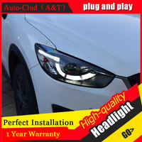 Auto Clud Car Styling For Mazda CX 5 Headlights 13 15 For CX 5 Head Lamp