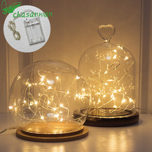 Christmas Decorations for Home 1 M 3M 6M Light Garland Lamp Battery Box New Year Gifts Christmas Tree Decorations Natal 3m 6m