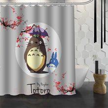 Best Custom Waterproof Bathroom Totoro Shower Curtain Polyester Fabric 165X180cm180X200cm P