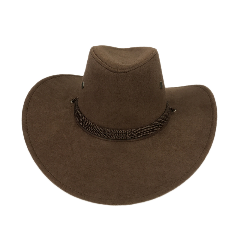 0bfdf511354 New 2018 Sun Hat Faux Leather Cowboy Hat Men and Women Travel Caps Fashion Western  Hats Chapeu Cowboy 9 colors YY0270-in Cowboy Hats from Apparel ...