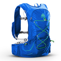 AONIJIE 15L Hydration Backpack Free 2L Water Bladder Outdoor Light Weight For Hiking Camping Running Marathon Race Rucksack Bag