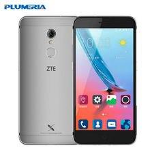 Оригинальный ZTE xiaoxian 4 мобильный телефон 5.2 дюймов 4 г LTE BV0701 Восьмиядерный MT6735 1.3 ГГц 13.0MP Камера 2 ГБ Оперативная память 16 ГБ Встроенная память отпечатков пальцев
