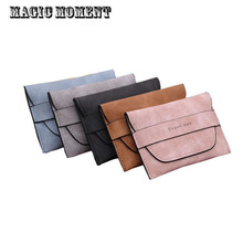 Magic Moment Brand women wallet nubuck leather single fold slim mini women's purses ladies card holder money coin purse female