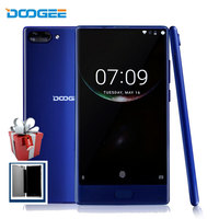 DOOGEE Mix Smartphone 5.5 Inch Android 7.0 Otca Core 4GB RAM+64GB ROM 2SIM 16MP+8MP 4G Unlocked Fingerprint Touch Android Phones