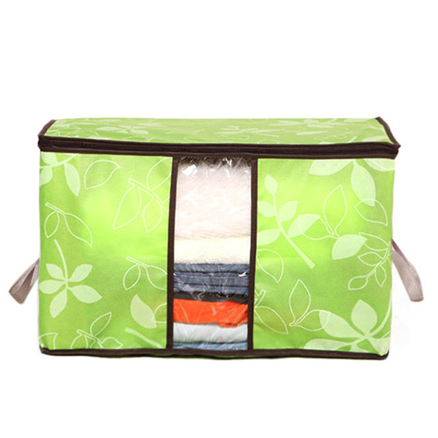 Storage Organization Bag for Clothes Blanket Quilt Home Organizers Storage Bag 3