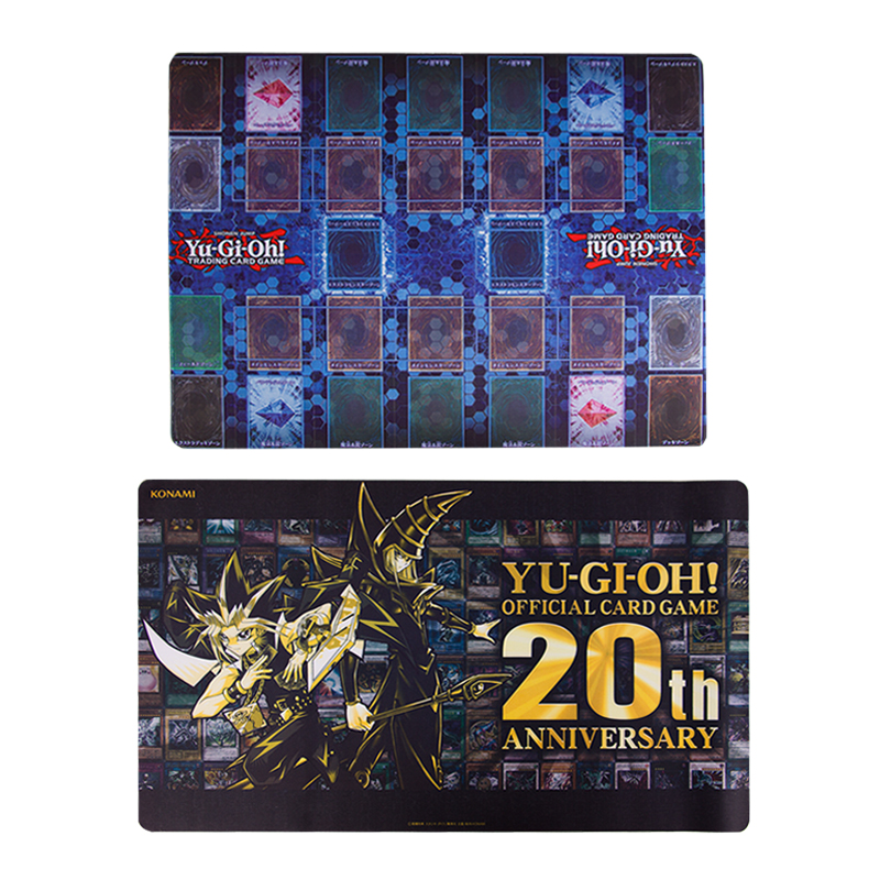 Yu Gi Oh 20th Anniversary Limited Official Card Pad Black Gold Card Pad Master Rule 4 Special Card Pad 2 People Official Format