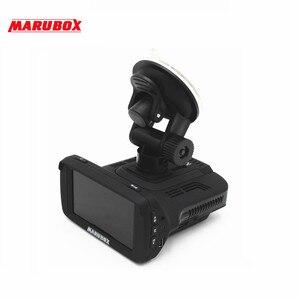 Image 2 - Marubox M600R جهاز تسجيل فيديو رقمي للسيارات رادار كاشف لتحديد المواقع 3 في 1 HD1296P 170 درجة زاوية اللغة الروسية مسجل فيديو مسجل شحن مجاني