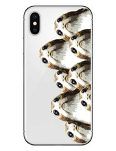 Porgs Soft TPU Cover For iPhone 5 5S SE 6 6S Plus 7 7Plus 8 8 Plus R2-D2 Case for iPhone X 10