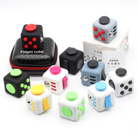 Fidget Cube Original High Quality Vinyl Desk Finger Toys Fidget Toys for Birthday Christmas Gift Antistress Stress Cube Toys