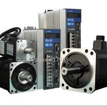 Лучшая цена ACH09075BC Серводвигатель и QS7AA020M Серводвигатель для фрезерования с ЧПУ, поворота, гравировки серводвигатель