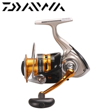 DAIWA CREST 2500A 3000A Spinning Fishing Reel 4BB 5.3:1 Max Drag 4kg Saltwater Bass Carp Feeder Front Drag Wheel Moulinet Peche