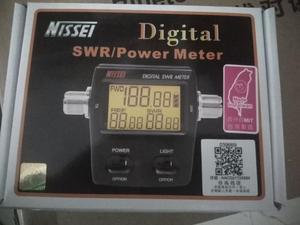 Image 4 - RS 50 dijital SWR / Watt metre NISSEI 125 525MHz UHF/VHF M tipi konnektör için TYT Baofeng LED ekran radyo güç sayacı