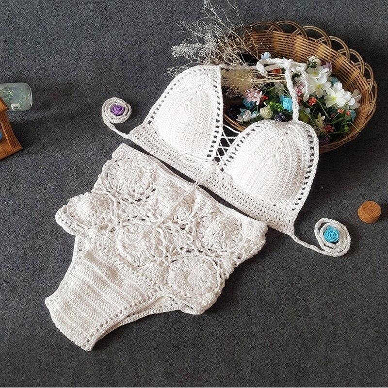 Жаңа трикотаж Bikini Set 2019 Әйелдер жоғары - Спорттық киім мен керек-жарақтар - фото 3