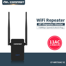 Comfast cf-Dual Band Wifi Extender 750 Mbps Ripetitore Roteador 802.11AC Router Wireless 2.4G + 5 GHz Wi-Fi Amplificatore