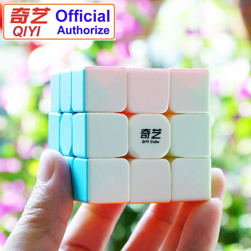 Magic Cube Competition Dedicated Smooth Design QiYi Warrior W 3x3x3 Magic-cube Toys For Children Speed Cubo Magico MF3SET