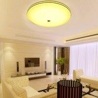 24W Round LED Ceiling Lights PIR Motion Sensor Ceiling LED Lamp Flush Mounted Lamp Indoor Security Light lamparas de techo