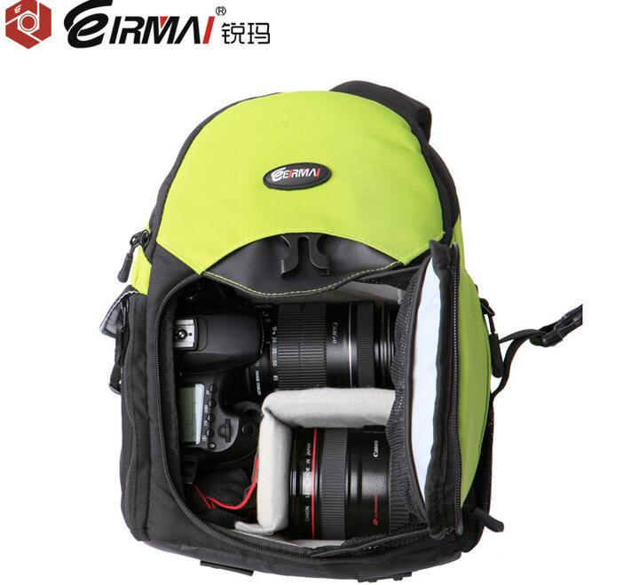 EIRMAI SLR camera bags shoulder aslant camera case Waterproof bags shockproof camera bags