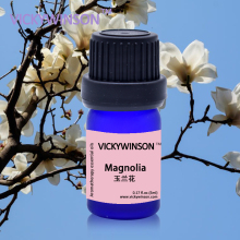 VICKYWINSON Magnolia flower essential oil 5ml water soluble fragrance replenisher Clearing heat Purging fire Aromatherapy