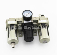 AC3000 03 3 8 Pneumatic FRL Air Filter Regulator Combination AF3000 AR3000 AL3000 Source Treatment Unit