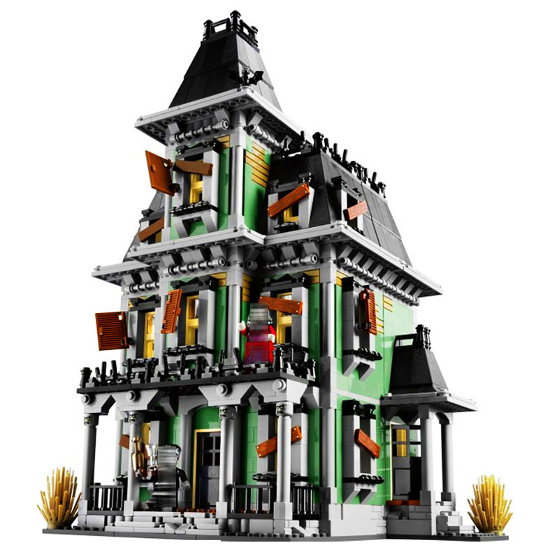LEPIN 16007 2141pcs Movie Series The haunted house Model Building Block set Brick Educational Toy For children Gift 10228 loz mini diamond block world famous architecture financial center swfc shangha china city nanoblock model brick educational toys