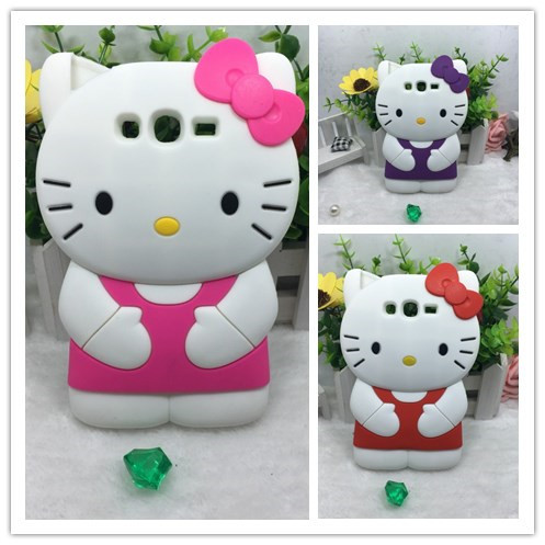 new product e4aa4 24871 US $2.98 |3D Cute Cartoon Hello kitty Silicon Soft Back Cover Phone Cases  For Samsung Galaxy Grand Neo Plus I9060i Grand Duos i9082 i9080-in ...