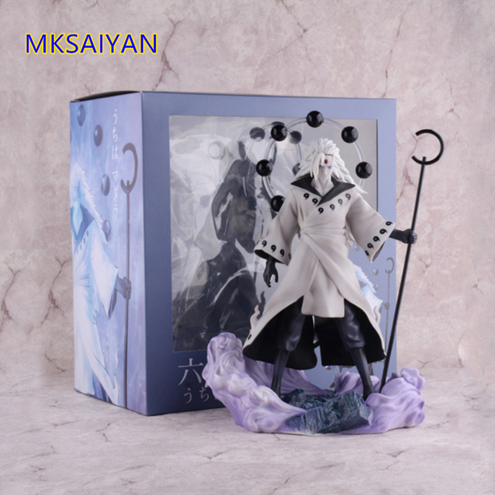 Naruto Uchiha Madara Anime Rikudou Sennin Modo Toys Doll PVC Action Figure Collectible Decoration Model Brinquedos Gift Toy XMNaruto Uchiha Madara Anime Rikudou Sennin Modo Toys Doll PVC Action Figure Collectible Decoration Model Brinquedos Gift Toy XM