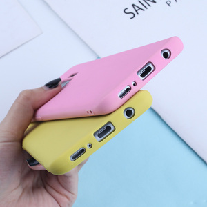 Image 5 - Candy Kleur Case Voor Samsung Galaxy A7 2018 A6 A8 Plus 2018 A50 A3 A5 A7 2016 2017 Zachte Siliconen gevallen TPU Matte Telefoon Covers