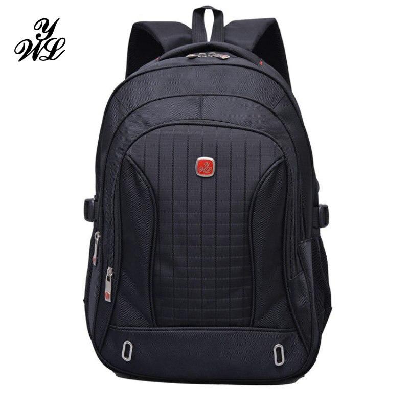 Вейль 3 этаж 15 дюймов ноутбук рюкзак Водонепроницаемый нейлон Для мужчин Для женщин школьная сумка для Тетрадь черный рюкзак Mochila Feminina Новые…
