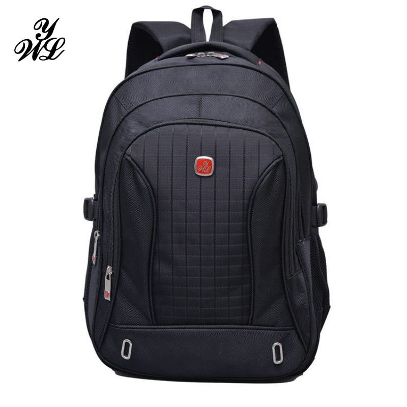 WYL Nylon Black Backpack Waterproof Men's Back Pack 15.6 Inch Laptop Mochila High Quality Designer Backpacks Male Escolar-FF sinpaid 3 size backpack waterproof men s back pack 15 6 inch laptop mochila high quality designer backpacks male escolar ff