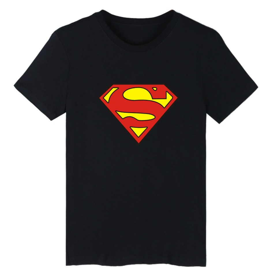 superman symbol short sleeve t shirt men funny and men tshirt cotton t shirt in super man tee. Black Bedroom Furniture Sets. Home Design Ideas