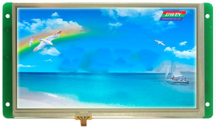 DMT10600C070_04WN DMT10600C070_04WT 7 inch Divin DGUS serial screen touch screen LCD screen configuration screenDMT10600C070_04WN DMT10600C070_04WT 7 inch Divin DGUS serial screen touch screen LCD screen configuration screen