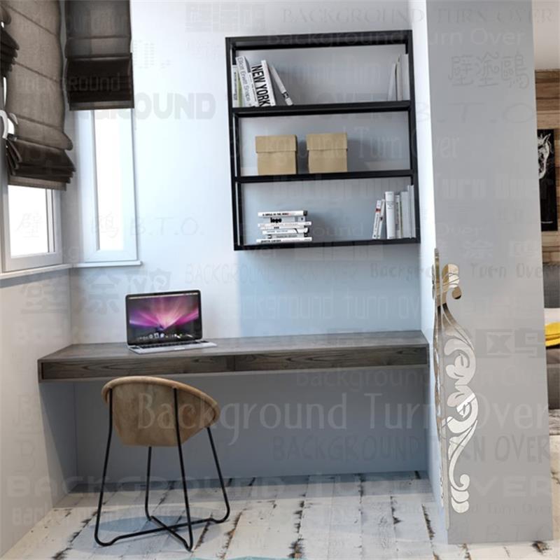 Creative DIY retro pattern metal acrylic edge & corner guards
