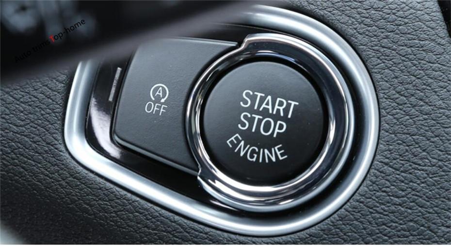 Yimaautotrims Başlat Durdur Motor Sistemi Anahtar Kalıp Çerçeve - Araç Içi Aksesuarları - Fotoğraf 5