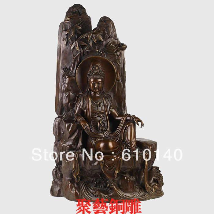 Patung, tembaga dekorasi tembaga buddha kerajinan patung Perunggu tembaga Besar