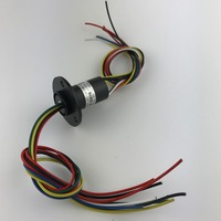 M Slipring Slip Ring Wind Power Slip Ring 8 Channels 10A Dia 22mm MSC 22 0810A