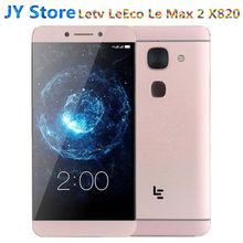 Letv – téléphone portable LeEco Le Max 2 X820 FDD 4G, écran de 5.7 pouces, smartphone, mémoire de 32 gb, processeur Snapdragon 820 Quad Core 2560x1440, caméra de 21mp, batterie de 3100mAh, nouveau